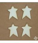 Csillag 1 chipboard karton díszítőelem