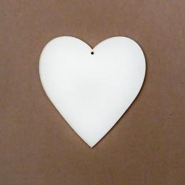 Szív 3 chipboard karton díszítőelem
