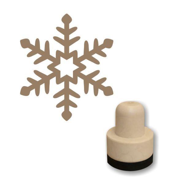 Hópehely 02 szivacs nyomda