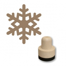 Hópehely 03 szivacs nyomda