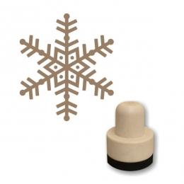 Hópehely 04 szivacs nyomda