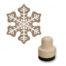 Hópehely 05 szivacs nyomda