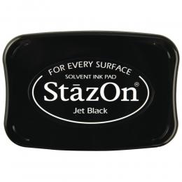 Fekete Jet Black StazOn bélyegzőtinta párna