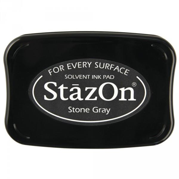 Kavicsszürke Stone Grey StazOn bélyegzőtinta párna