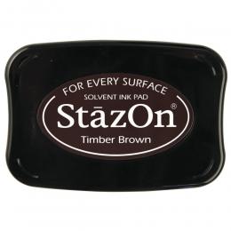 Sötétbarna Timber Brown StazOn bélyegzőtinta párna
