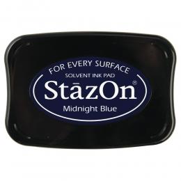 Éjkék Midnight blue StazOn bélyegzőtinta párna