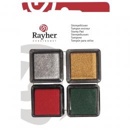 Christmas mini bélyegzőpárna készlet, 4 db