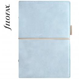 Világoskék Filofax Domino Soft Personal