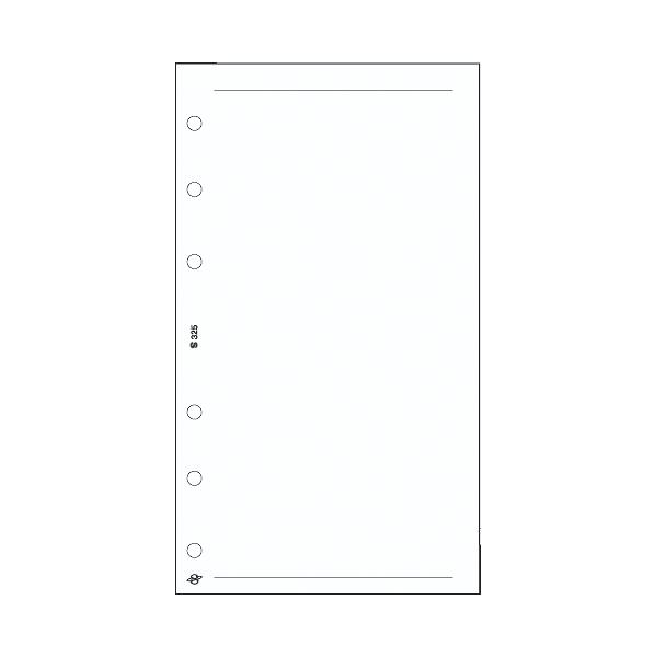 S üres jegyzetlap , fehér