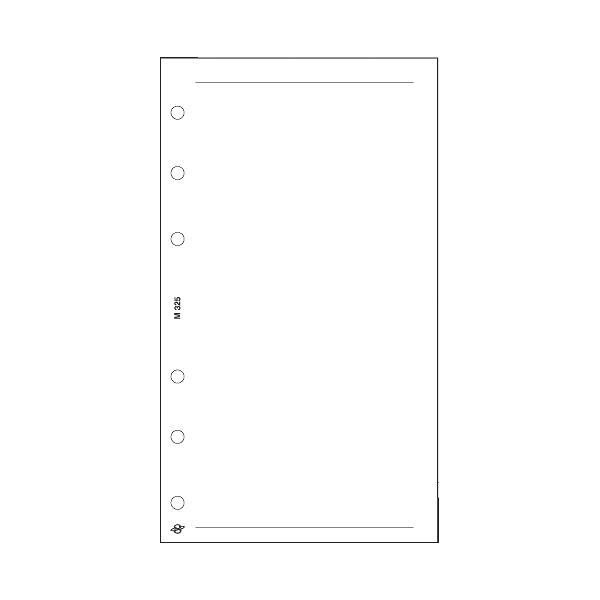 M üres jegyzetlap , fehér