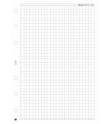 L négyzethálós jegyzetlap fehér | Saturnus