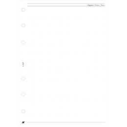 L üres jegyzetlap , fehér