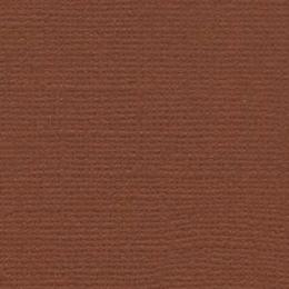 Dióbarna, egyszínű, texturált felületű karton, 30,5x30,5 cm