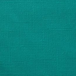 Türkiz, egyszínű, texturált felületű karton, 30x30 cm