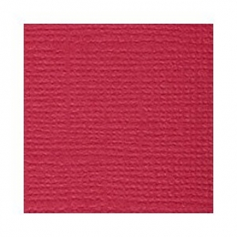 Piros, egyszínű, texturált felületű karton, 30x30 cm