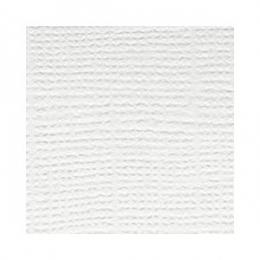 Fehér, egyszínű, texturált felületű karton, 30x30 cm
