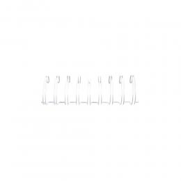 "Fehér 1.0"" (2,54 cm) fémspirál Cinch spirálozógéphez , 30 cm , 2 db"