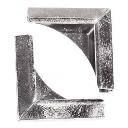 Ezüst fém albumsarok 21 mm , 4 db