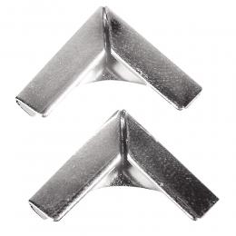 Ezüst fém albumsarok 14 mm , 4 db