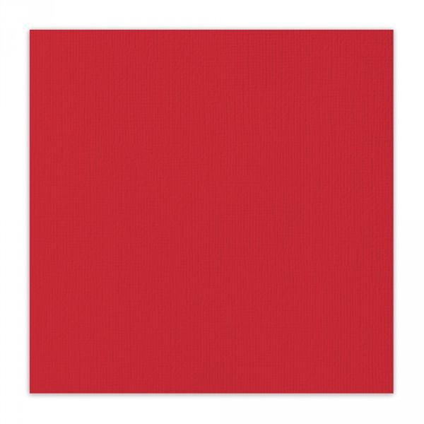 """Piros texturált felületű alapkarton 12"""""""