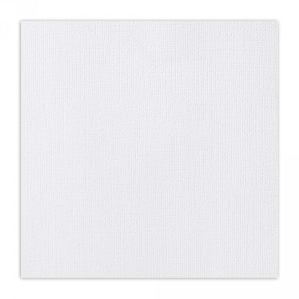 """Fehér texturált felületű alapkarton 12"""""""
