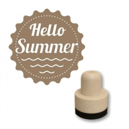 Hello Summer foam nyomda