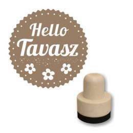 Hello Tavasz foam nyomda