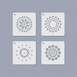 Mandala Mini Stencil 08