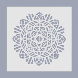 Mandala stencil 01