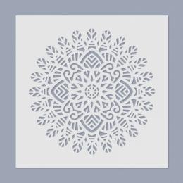 Mandala stencil 02