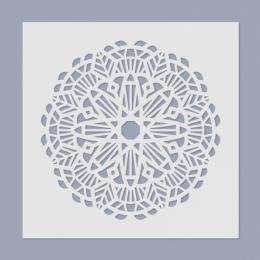 Mandala stencil 03