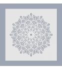 Mandala stencil 04