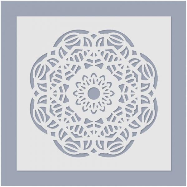 Mandala stencil 05