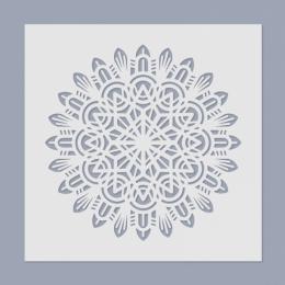 Mandala stencil 06