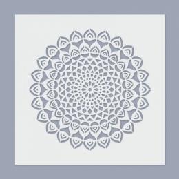 Mandala stencil 07