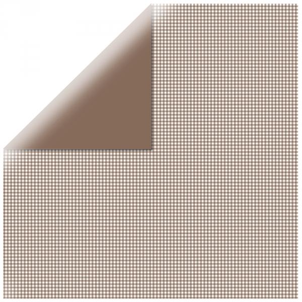 "Chocolate Mono Basics 12"" scrapbookpapír"