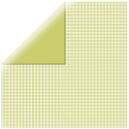 "Lime Mono Basics 12"" scrapbookpapír"