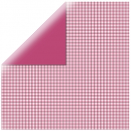 "Pink Mono Basics 12"" scrapbookpapír"