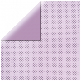 "Purple Glitter Dots 12"" scrapbookpapír"