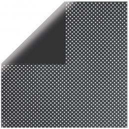 "Black Glitter Dots 12"" scrapbookpapír"