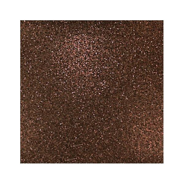 """Dark Brown Glitter 12"""" scrapbookpapír"""