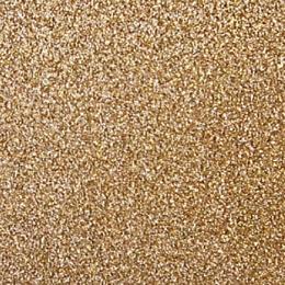 "Cashmere Gold Glitter 12"" scrapbookpapír"