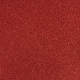 """Red Glitter 12"""" scrapbookpapír"""