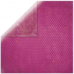 """Pink Vintage 12"""" scrapbookpapír"""