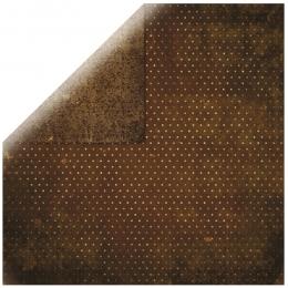 "Chocolate Vintage 12"" scrapbookpapír"