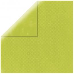 """Grass Green Double Dot 12"""" scrapbookpapír"""