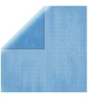 """Sky Blue Double Dot 12"""" scrapbookpapír"""
