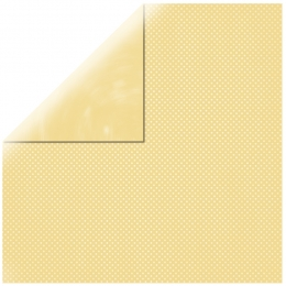 "Banana Double Dot 12"" scrapbookpapír"