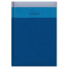 Kék A5 Trinity ponthálós notesz