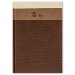 Barna ponthálós füzet A5 | Trinity Bullet
